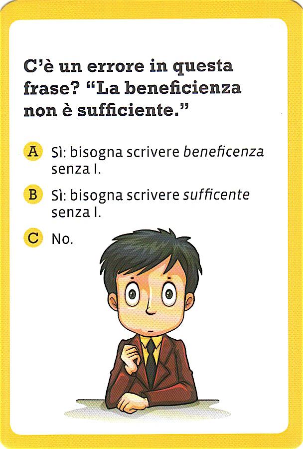 ortografia beneficenza/beneficienza sufficiente/sufficente