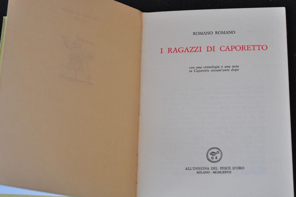 """""""prima guerra mondiale"""" bambini ragazzi """"Sergio Romano"""" Scheiwiller fuga occupazione Caporetto"""