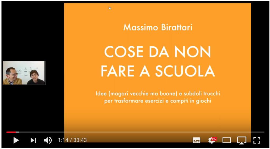 Webinar Rizzoli Education compiti scuola attività