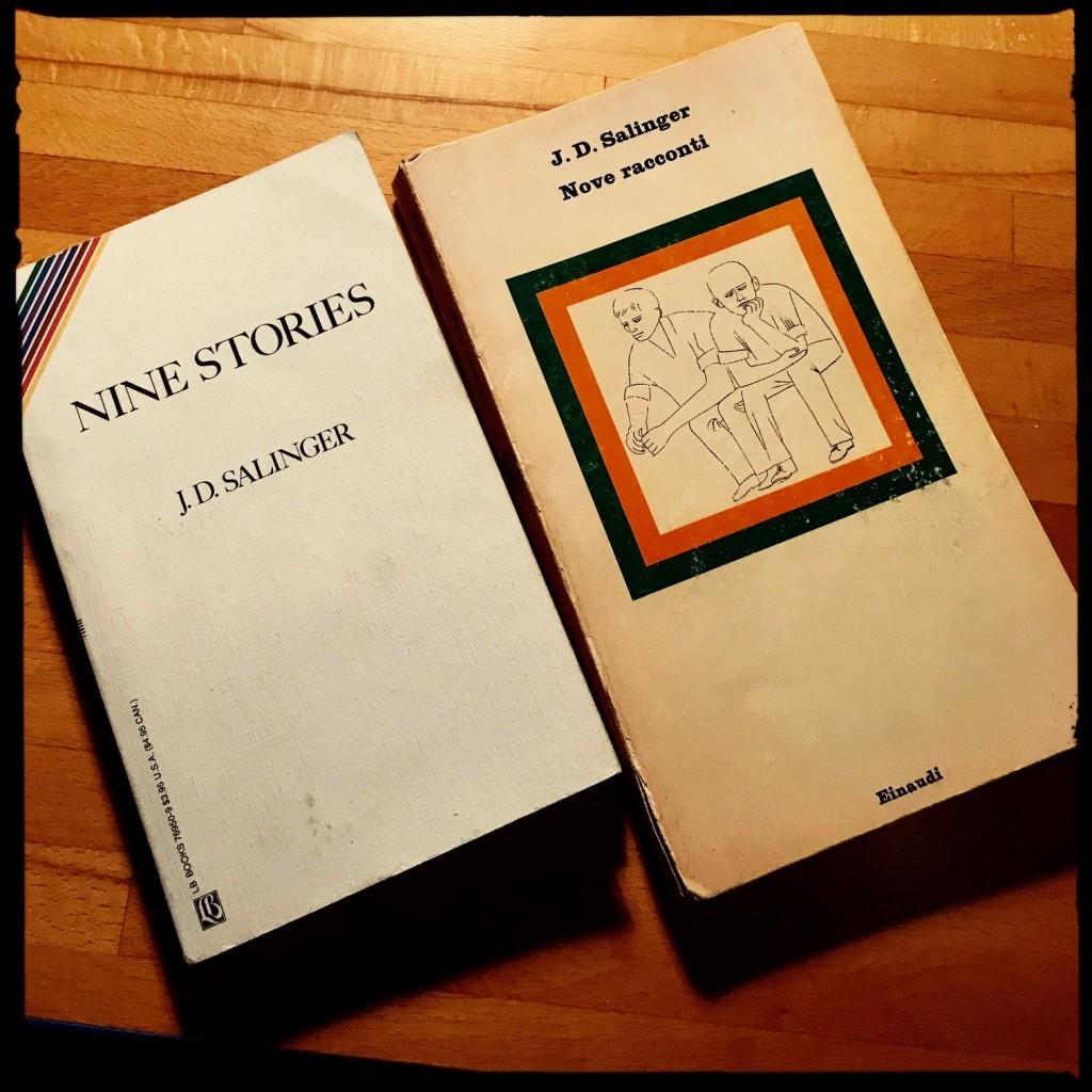 """Salinger """"Nove racconti"""" traduzione Fruttero letteratura americana"""