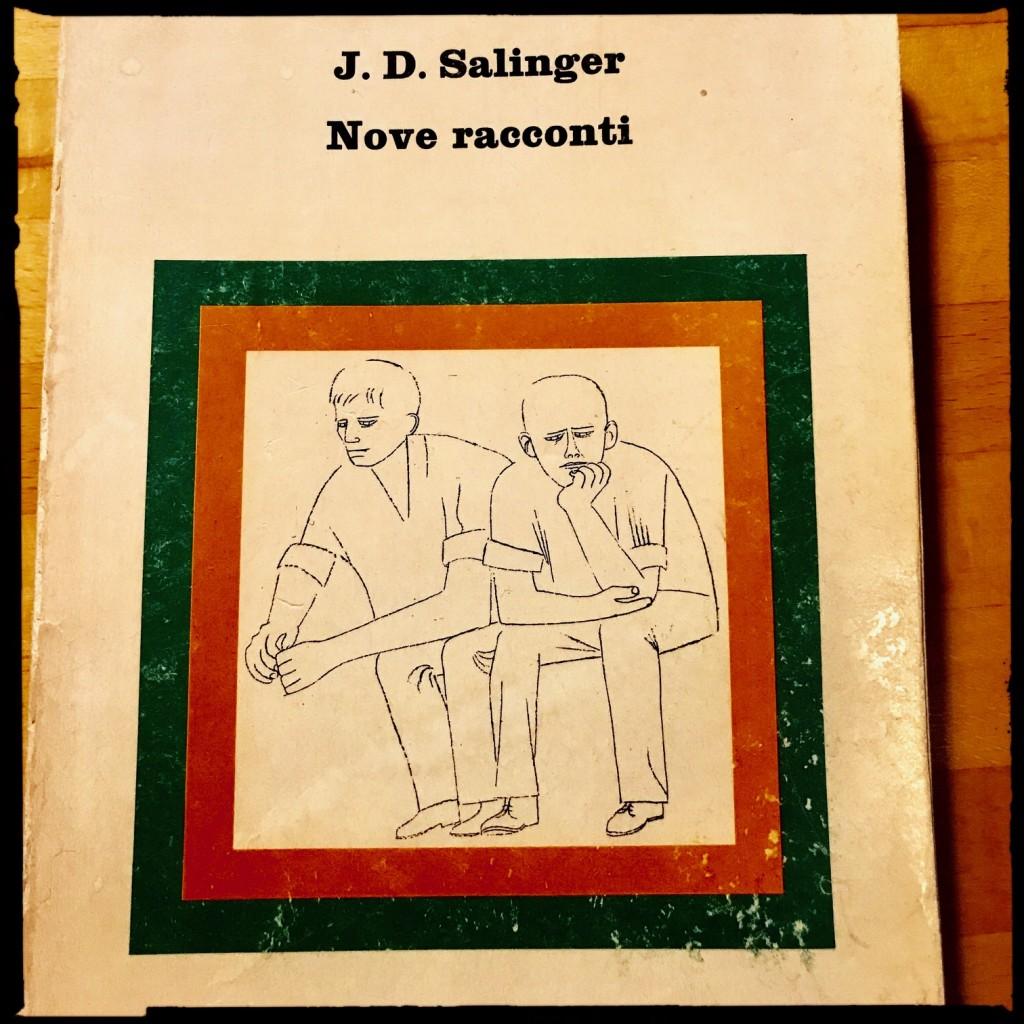 "Salinger ""Nove racconti"" ""Nuovi Coralli Einaudi"" copertina ""Ben Shahn"""