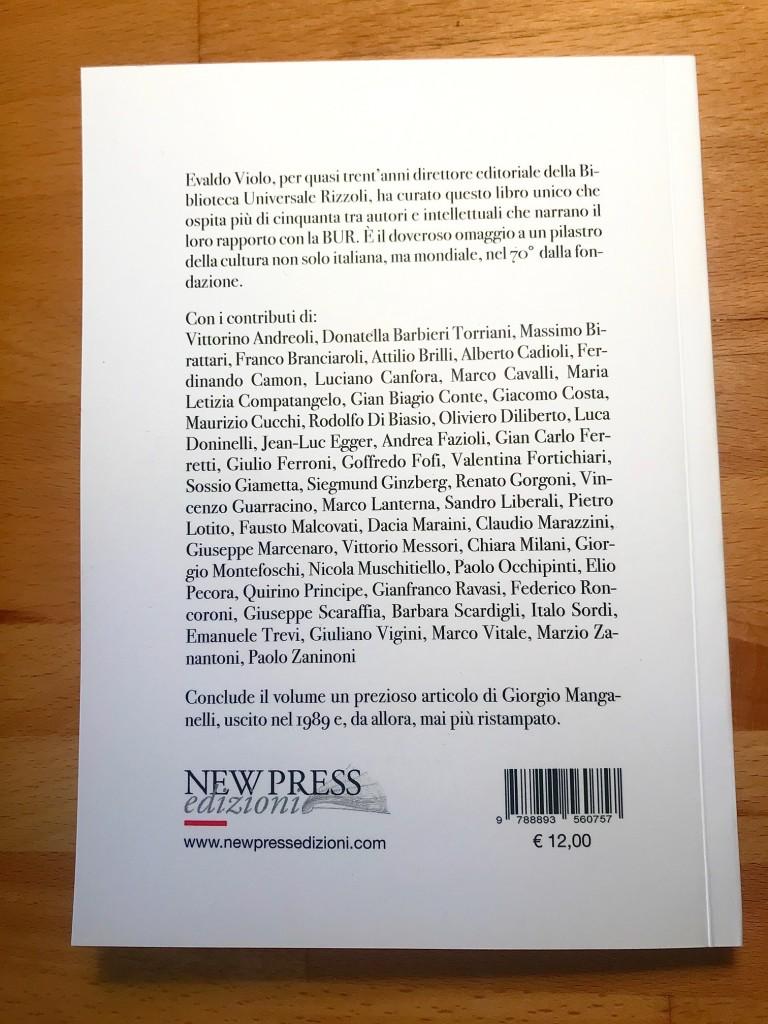"""""""New Press Edizioni"""" """"Evaldo Violo"""" """"Andrea Di Gregorio"""" BUR"""
