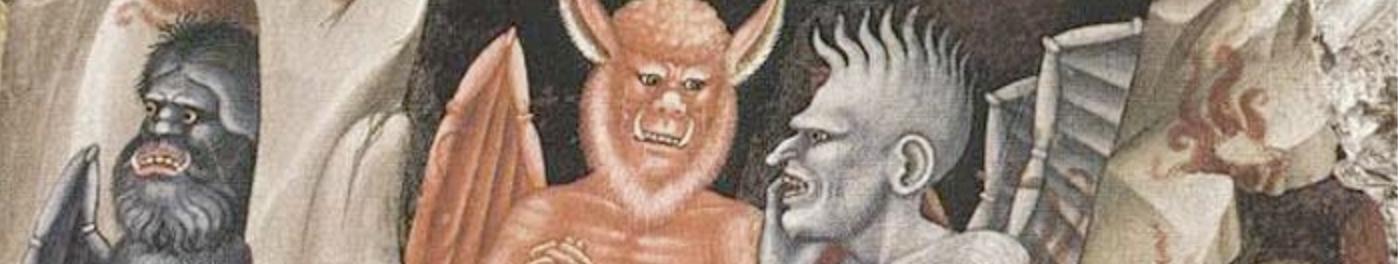 """Dante Sermonti diavoli Inferno """"Divina Commedia"""""""